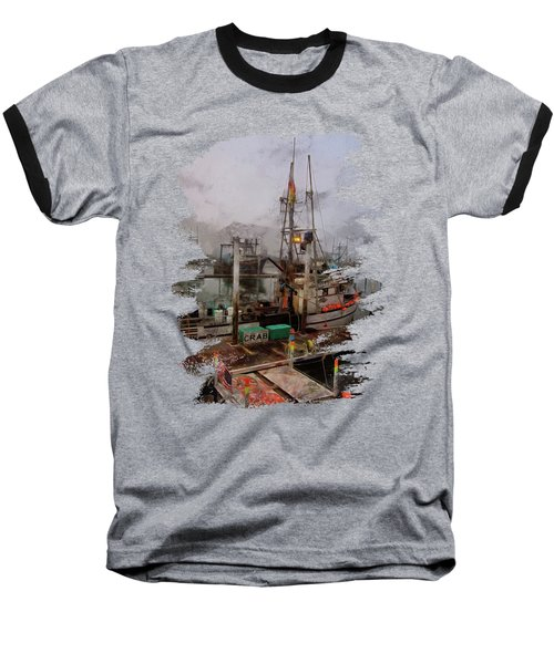Fresh Live Crab Baseball T-Shirt