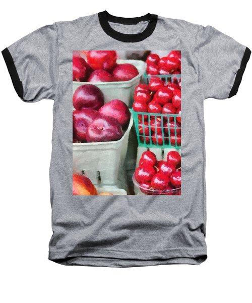 Fresh Market Fruit Baseball T-Shirt