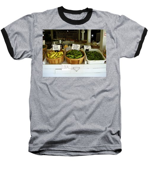 Fresh Produce Baseball T-Shirt by Flavia Westerwelle