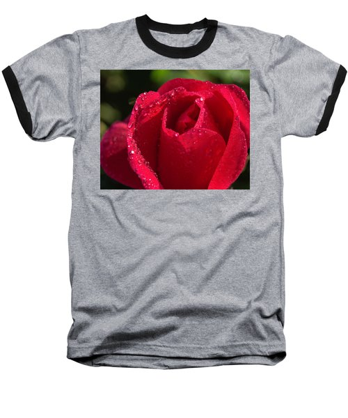Fresh Rose Baseball T-Shirt