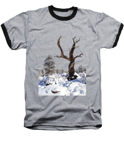 Fresh Snow Baseball T-Shirt