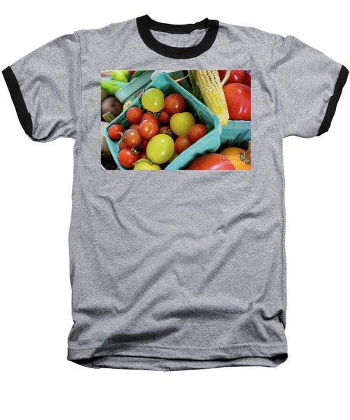 Fresh Tomatoes Baseball T-Shirt