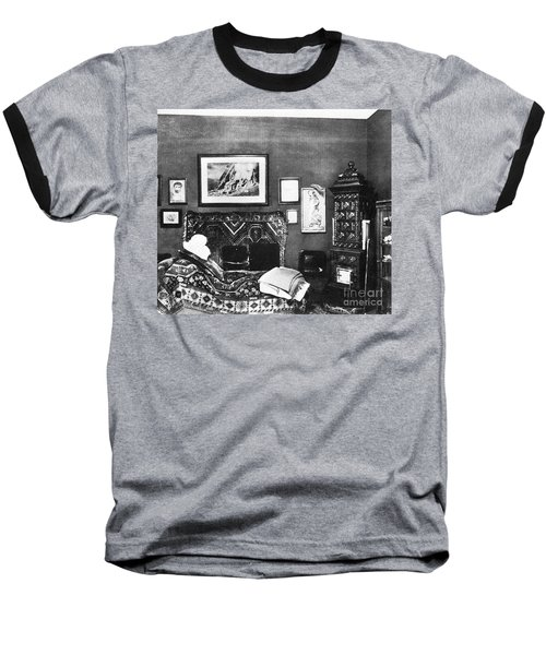 Freuds Consulting Room Baseball T-Shirt