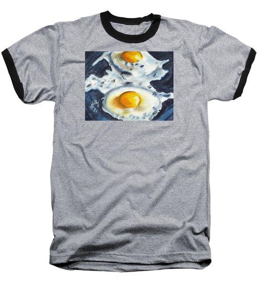 Fried Eggs Baseball T-Shirt
