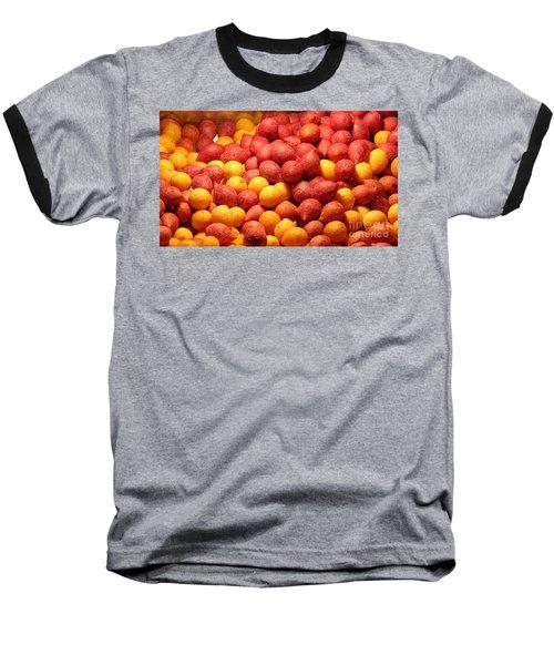 Fried Sweet Potato Balls Baseball T-Shirt by Yali Shi