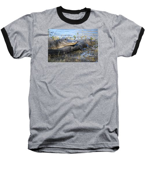 Baseball T-Shirt featuring the painting Friend, I Got Your Back by Roena King
