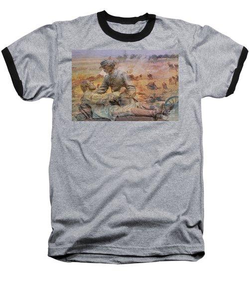 Friend To Friend Monument Gettysburg Battlefield Baseball T-Shirt