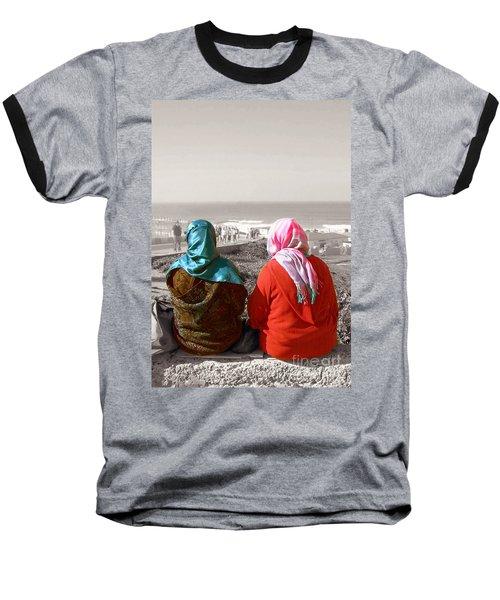 Friends, Morocco Baseball T-Shirt by Susan Lafleur