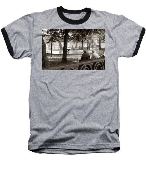 Friends At The Fountain Baseball T-Shirt