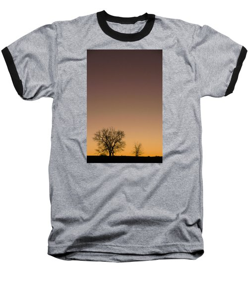Baseball T-Shirt featuring the photograph Friends Awaiting Sunrise by Monte Stevens