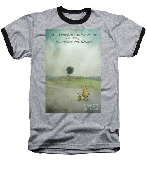 Friendship Baseball T-Shirt by Kathy Russell