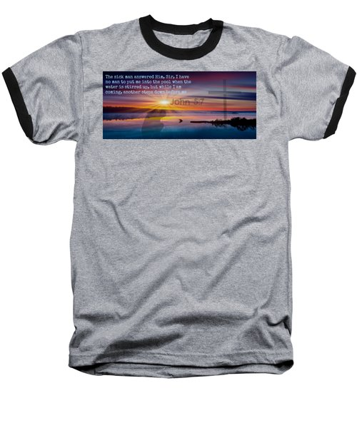 Friendship207 Baseball T-Shirt by David Norman