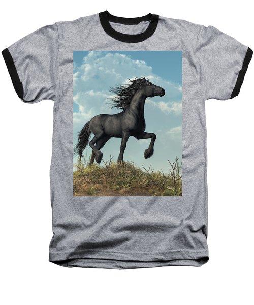 Friesian Baseball T-Shirt