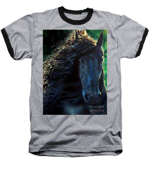 Friesian Glimmer Baseball T-Shirt