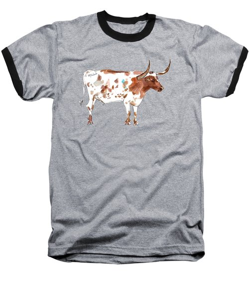 Friesien A Texas Longhorn Lh035 Baseball T-Shirt