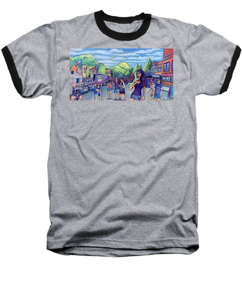 Frisco Bbq Festival 2017 Baseball T-Shirt