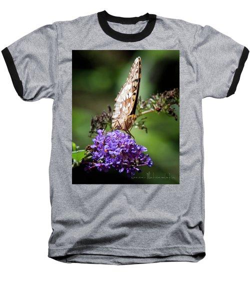 Fritillary Baseball T-Shirt