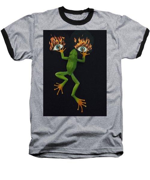Frog Face Baseball T-Shirt