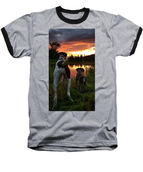 Frog Hunters 2 Baseball T-Shirt