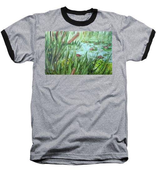 Frog Went A-courtin Baseball T-Shirt