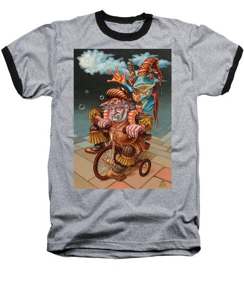 Froggy Circus Baseball T-Shirt