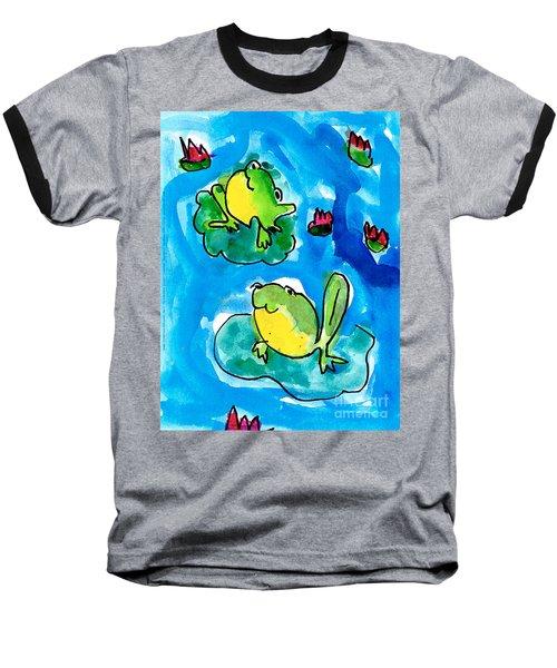 Frogs Baseball T-Shirt