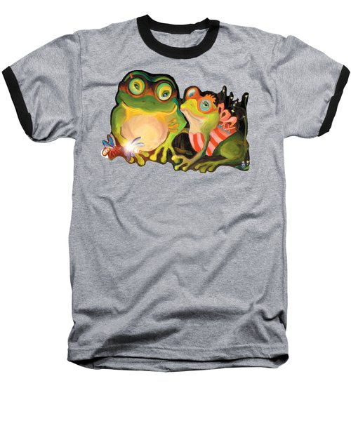 Frogs Transparent Background Baseball T-Shirt