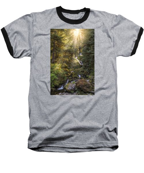From Above Baseball T-Shirt by James Heckt