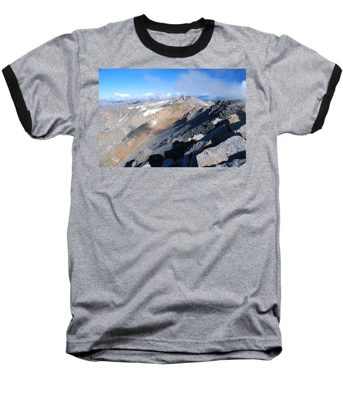 From Atop Mount Massive Baseball T-Shirt