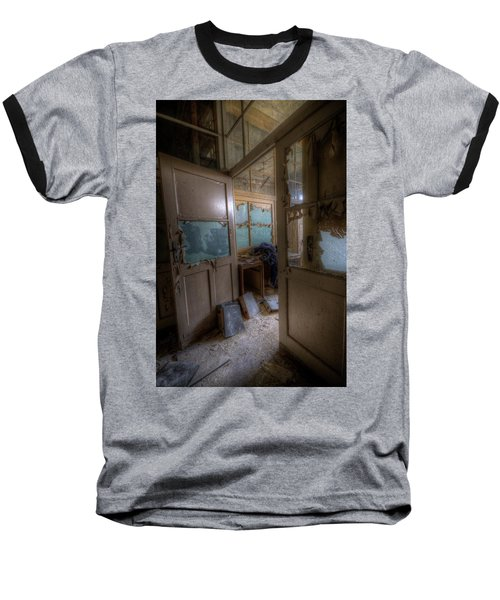From Darkness Baseball T-Shirt by Nathan Wright