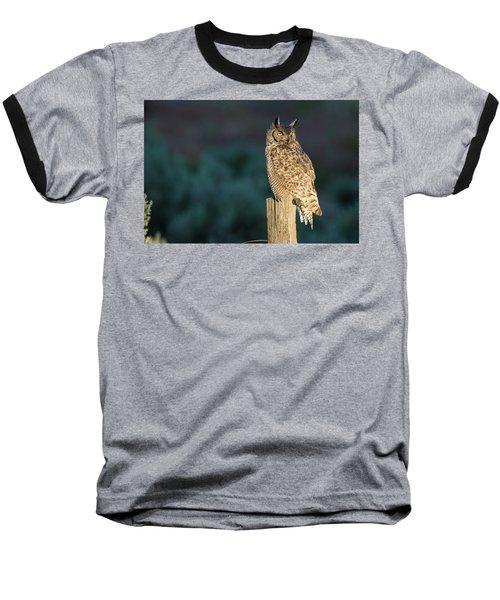 From Dusk Til Dawn Baseball T-Shirt by Scott Warner
