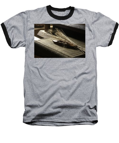 Baseball T-Shirt featuring the photograph From Flax To Linen by Emanuel Tanjala
