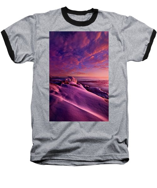 Baseball T-Shirt featuring the photograph From Inside The Heart Of Each by Phil Koch