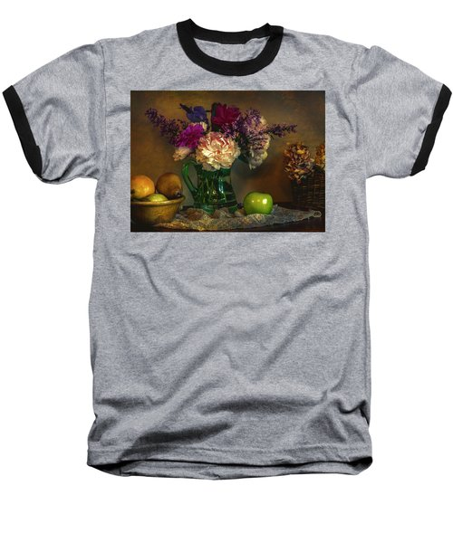 From The Garden To The Table Baseball T-Shirt by John Rivera