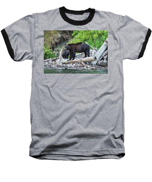 From The Great Bear Rainforest Baseball T-Shirt by Scott Warner