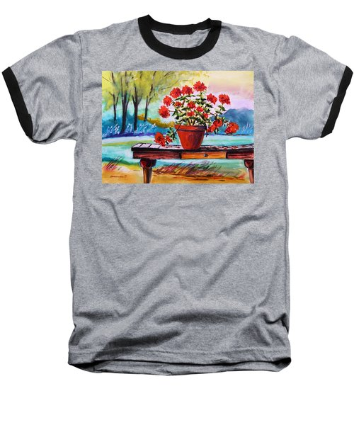 From The Potting Shed Baseball T-Shirt by John Williams