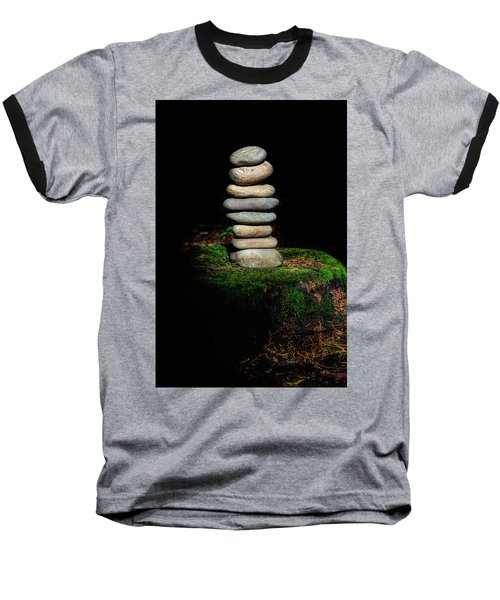 Baseball T-Shirt featuring the photograph From The Shadows by Marco Oliveira