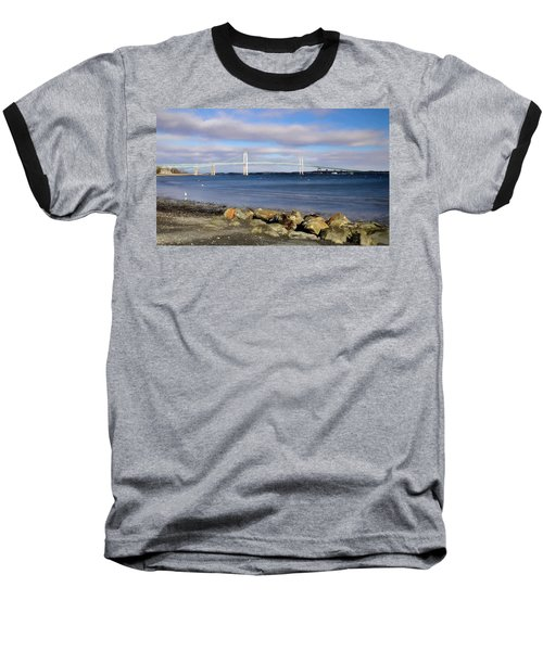 From The Shores Of Jamestown Baseball T-Shirt