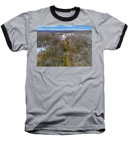 From Woods To Snow Baseball T-Shirt
