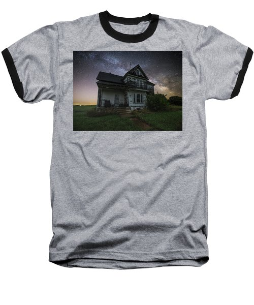 Baseball T-Shirt featuring the photograph Front Porch  by Aaron J Groen
