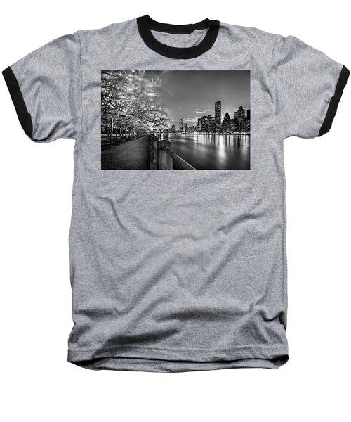 Front Row Roosevelt Island Baseball T-Shirt by Az Jackson