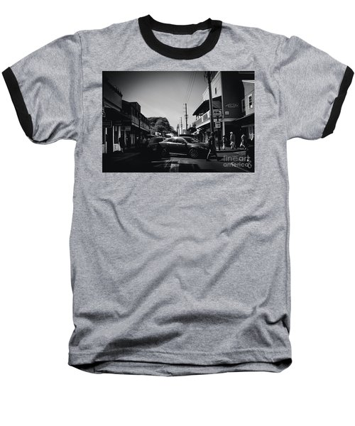 Baseball T-Shirt featuring the photograph Front Street  by Sharon Mau