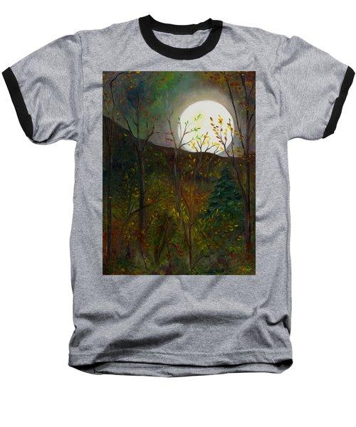 Frost Moon Baseball T-Shirt