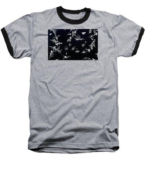Frost On Car Window 1 Baseball T-Shirt