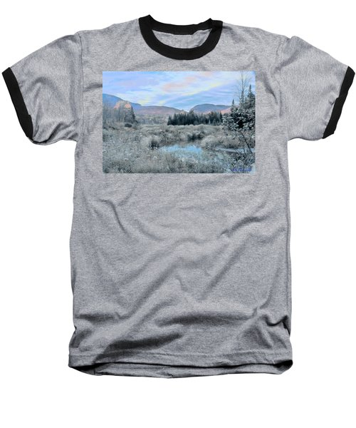 Frost On The Bogs Baseball T-Shirt