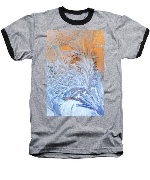 Frost Patterns On Window Baseball T-Shirt