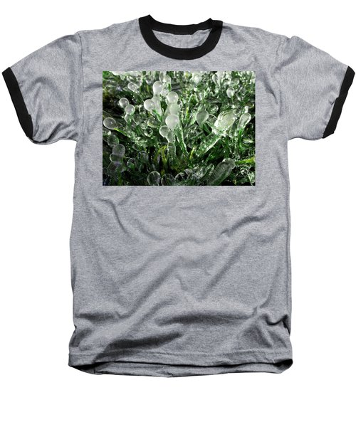 Frosted Grass Baseball T-Shirt