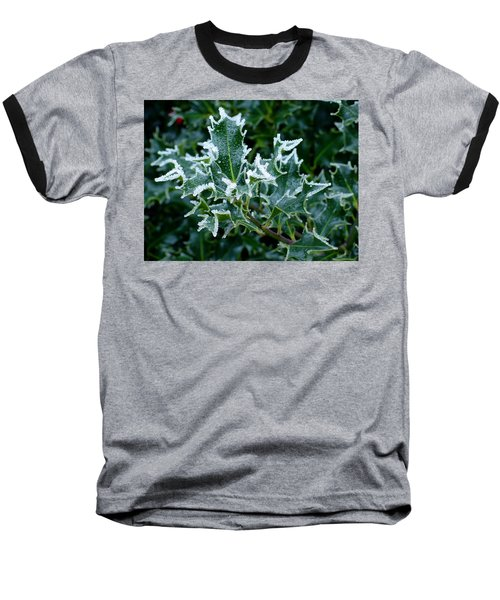 Frosted Holly Baseball T-Shirt