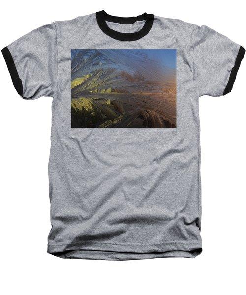 Frostwork - Art Nouveau Baseball T-Shirt