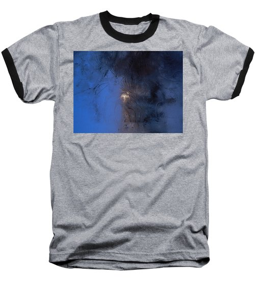 Frostwork - Engraved Night Baseball T-Shirt